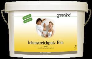 greenline - Lehmstreichputz Fein