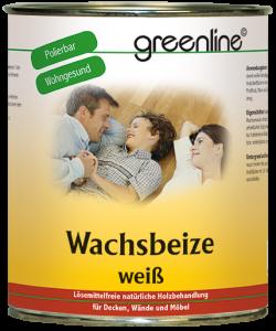 greenline - Wachsbeize weiß